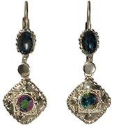 Sorrelli Crystal & Silvertone Geometric Drop Earring
