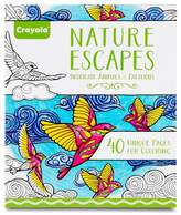 Crayola Adult Coloring Book - Nature Escapes