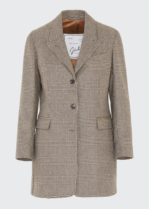 Giuliva Heritage Collection Wool Hunting Blazer