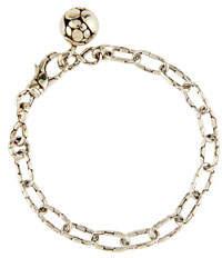 John Hardy Kali Silver Link Bracelet w/ Ball Charm