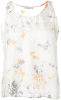 Mes Demoiselles printed Ada top - women - Silk - 38