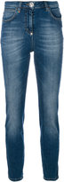 Philipp Plein high-waisted jeans - women - Cotton/Spandex/Elastane - 25