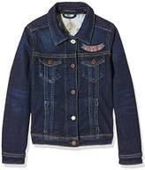 Scotch & Soda R'Belle Girl's Basic Trucket Jacket,140 (Herstellergröße: 10)