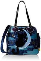 Irregular Choice Womens Starry Night Top-Handle Bag