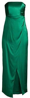 Fame & Partners Aberdeen Drape Sleeveless Dress
