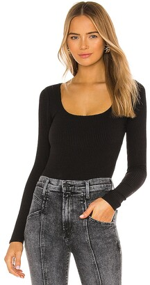 Lovers + Friends Susanna Scoop Neck Top