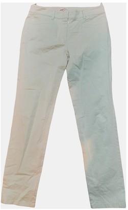 Prada Beige Cloth Trousers for Women
