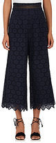 Zimmermann Women's Meridian Cotton Eyelet Crop Pants