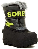 Sorel Snow Commander Faux Fur Lined Boot (Baby, Toddler, & Little Kid)