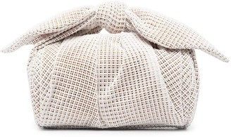 REJINA PYO Nane mesh-panelled tote bag