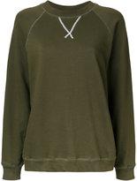Bassike v-insert sweatshirt