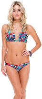 Luli Fama Full Ruched Back Bottom In Multicolor (L508521)