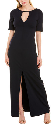 Susana Monaco Slit Front Maxi Dress