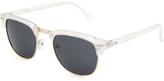 Full Tilt Speakeasy Clubmaster Sunglasses