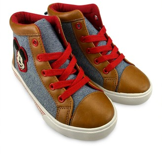 Disney Mickey Mouse High-Top Sneakers for Kids