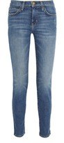 Current/Elliott The Mamacita Mid-rise Slim-leg Jeans - Mid denim