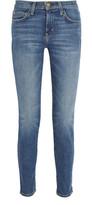 Current/Elliott The Mamacita Mid-rise Slim-leg Jeans - Mid denim