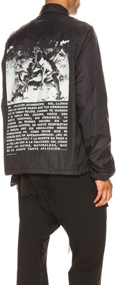 Rick Owens Snapfront Jacket in Black | FWRD