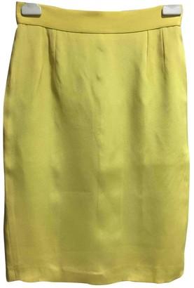 Christian Dior Yellow Skirt for Women Vintage