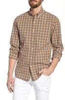 J.Crew J. CREW Slim Fit Stretch Secret Wash Plaid Sport Shirt