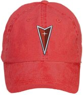 HUANYU SHOW HUANYU PONTIAC Logo Cotton Washed Baseball Caps Hats With Adjustable Velcro
