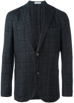 Boglioli checked two-button blazer
