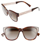 Christian Dior Ribbon 55mm Sunglasses