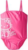 Hello Kitty Little Girls' Pink One Piece