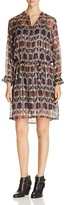 Scotch & Soda Ikat-Print Shirt Dress