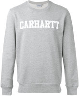 Carhartt logo print sweatshirt - men - Cotton - S