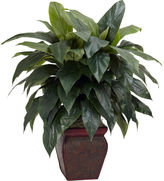 Asstd National Brand Nearly Natural Cordyline With Decorative Vase Silk Plant