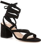 GB Wrap-City Block Heel Dress Sandals