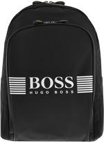 BOSS GREEN Pixel Backpack Bag Black