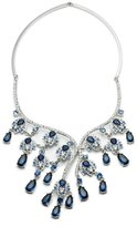 Carolee Imperial Sky Ombr Drama Collar Statement Necklace