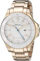 Marc by Marc Jacobs Women's Dizz MBM3409 Rose Gold Stainless-Steel Quartz Watch