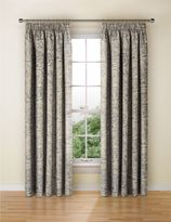 Marks and Spencer Alba Metallic Print Curtain
