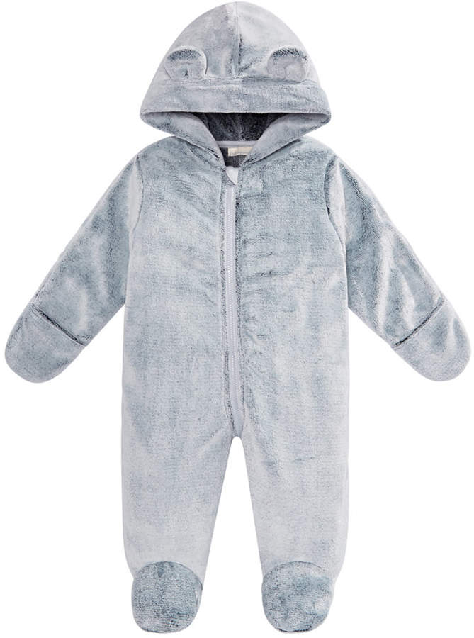 9d4bcad0d56 Baby Boys & Girls Hooded Footed Faux-Fur Bunting Snowsuit