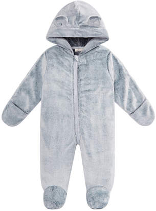 First Impressions Baby Boys & Girls Hooded Footed Faux-Fur Bunting Snowsuit