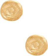 Rivka Friedman Women's 18K Gold Swirl Stud Earrings