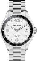 a・i・n Claude Bernard Women's 70169 3 AIN Aquarider Silver Dial Stainless Steel Date Watch