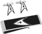 Cufflinks Inc. Men's Star Trek Delta Shield Cufflinks/Money Clip Set