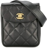 Chanel Pre Owned 1994-1996 quilted waist bum bag
