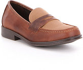 Kenneth Cole Reaction Boy's Club Loft Leather & Fabric Slip-On Loafer