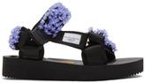 Suicoke Cecilie Bahnsen Black Edition Maria Beaded Sandals