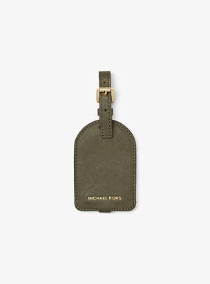 Michael Kors Jet Set Travel Saffiano Leather Luggage Tag