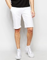 Lindbergh Lindebergh Chino Shorts in White