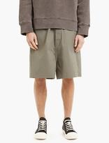Rick Owens Grey Oversized Magnum Shorts