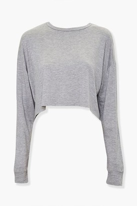 Forever 21 Raw-Cut Boxy Top