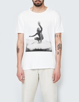 Quality Peoples Surfer Photo Crew T-Shirt