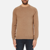 Ps By Paul Smith Crew Neck Jumper Tan